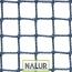 Siatka do zabezpieczenia magazynów Profesjonalna, gęsta i mocna siatka na magazyny – odpowiednia do zabezpieczania przestrzeni magazynowych i znajdujących się w nich towarów. O niewielkich oczkach 2x2 cm, ze sznurka polipropylenowego PP o grubości 2 mm. Dostępna w różnych kolorach. Wzmacniana i obszywana.