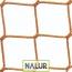 Siatka do zabezpieczenia Siatka na regały na hale magazynowe- 4,5x4,5 3mm PP zabepieczająca siatka