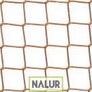 Siatka na kotarę grodzącą na wymiar Profesjonalna siatka polipropylenowa do stosowania jako kotary grodzące – produkowana z wytrzymałego polipropylenu PP o wymiarach oczka 4,5x4,5 cm oraz grubości 3 mm. Doskonale nadaje się do stosowania wewnątrz obiektów sportowych, gdzie uprawia się kilka dyscyplin sportu w jednym pomieszczeniu.