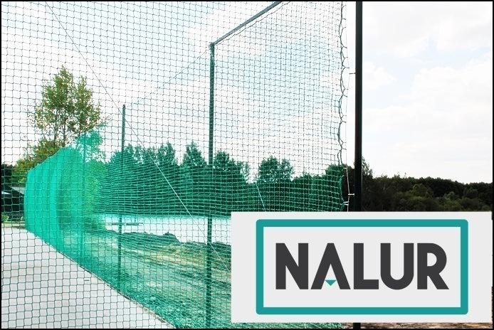 Siatki ochronne na ogrodzenie boiska i piłkochwyty